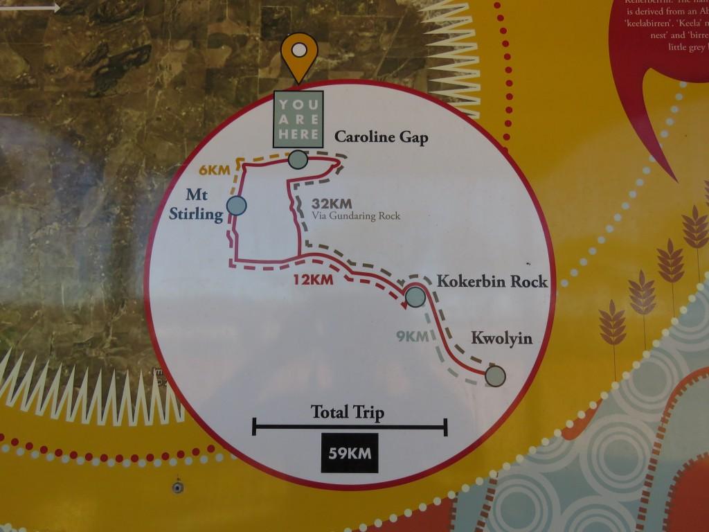 Granite Way Map