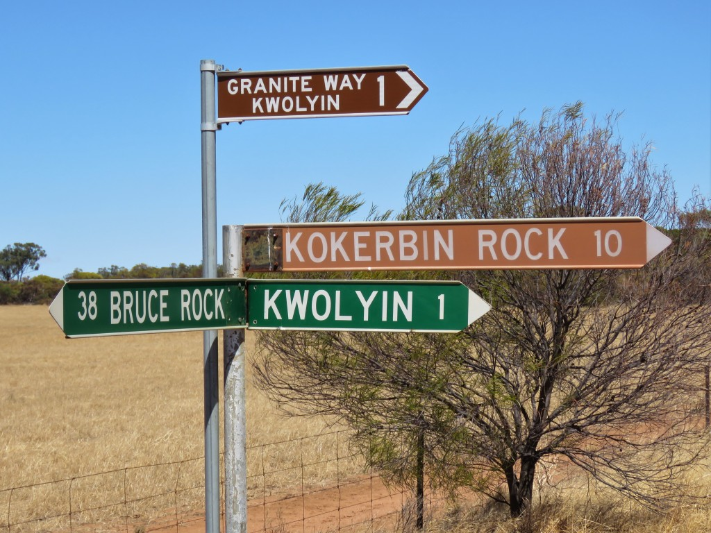 Granite Way Signage