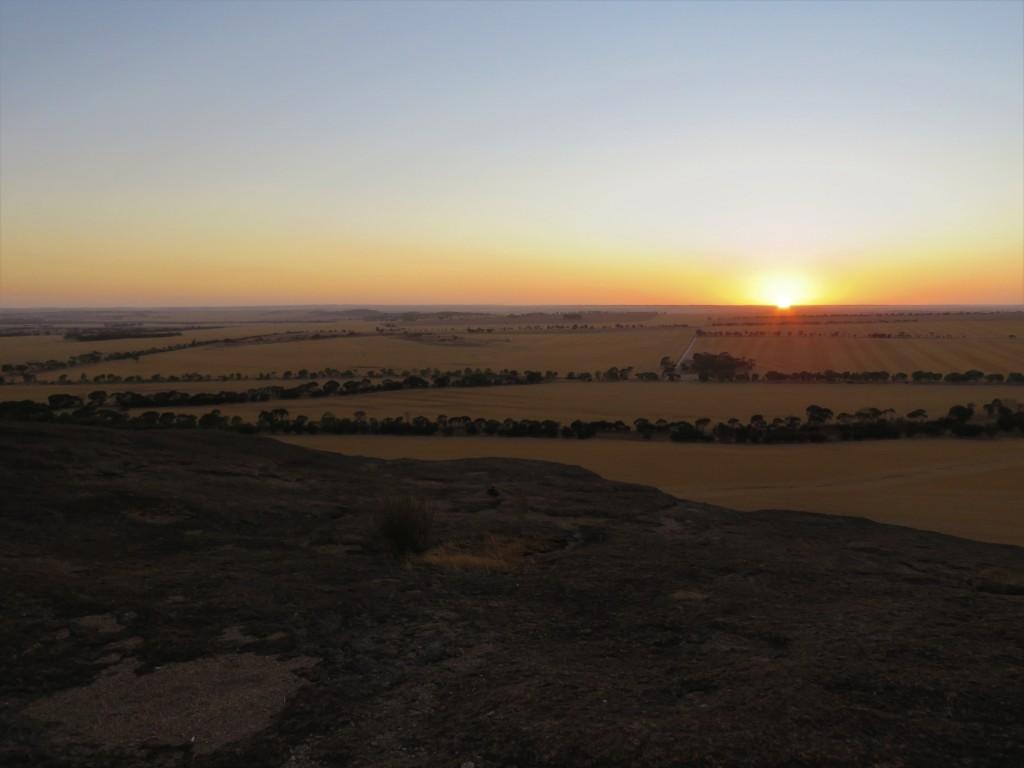 Sunrise Kokerbin Rock