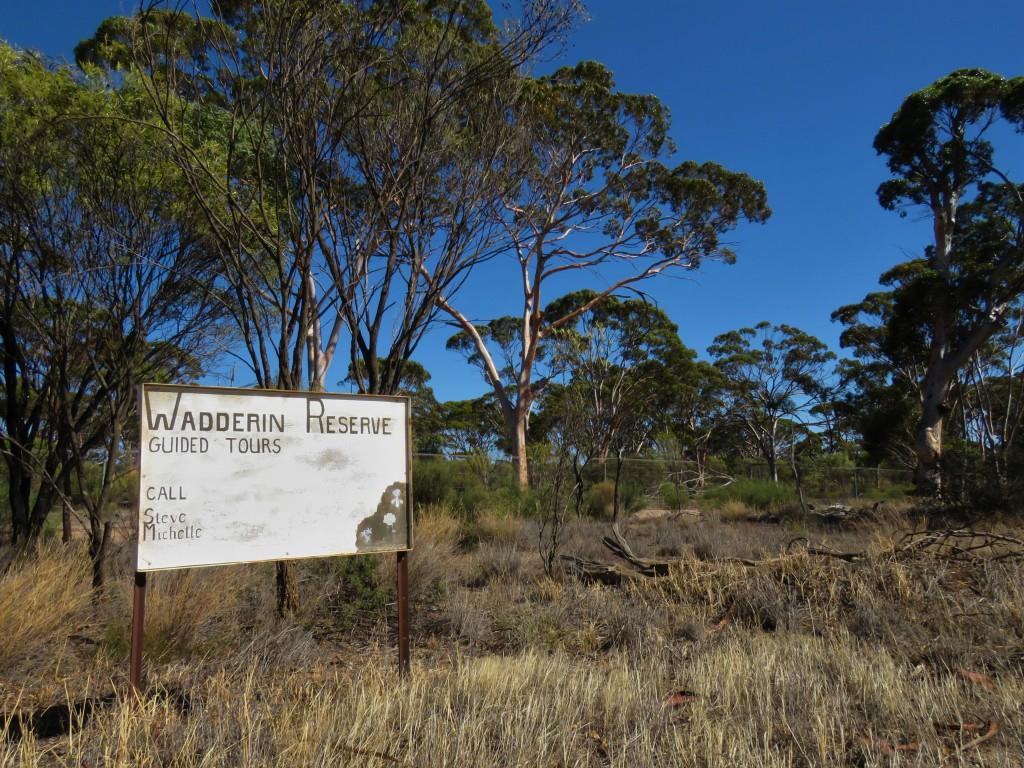 Wadderin Sanctuary Signage