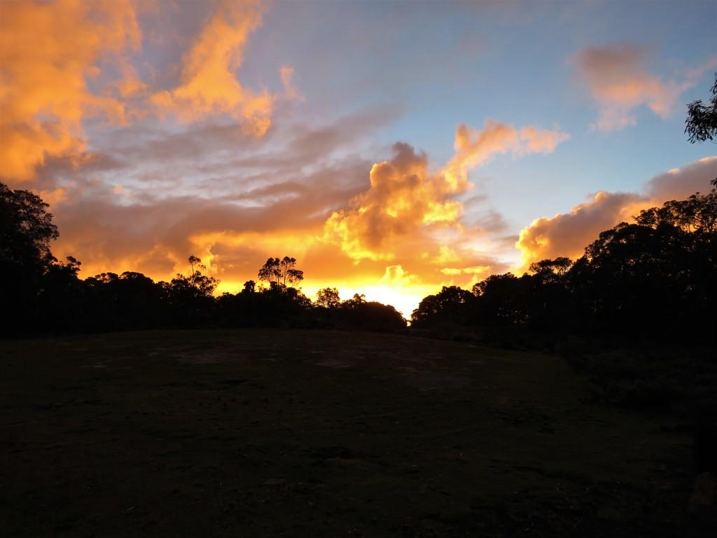 Sunrise - Margaret River - Clouds