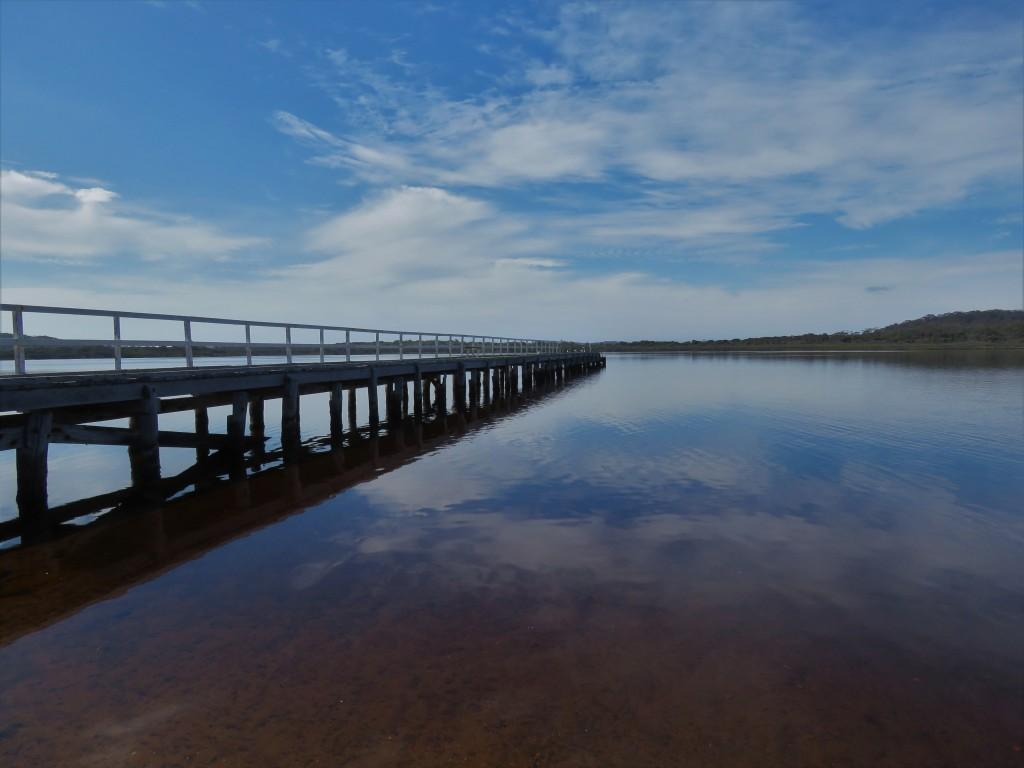Bibbulmun Track - Still Waters - Walpole Inlet - Jetty