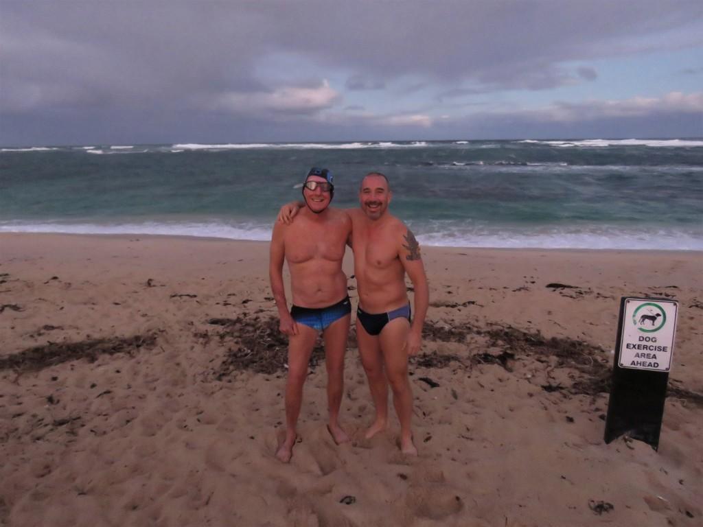 Swimmers - Rough Ocean - Margaret River